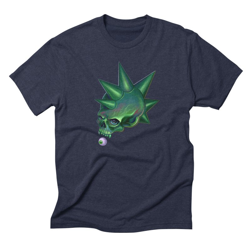 Skull Mask n2 Men's Triblend T-Shirt by shaoart's Artist Shop