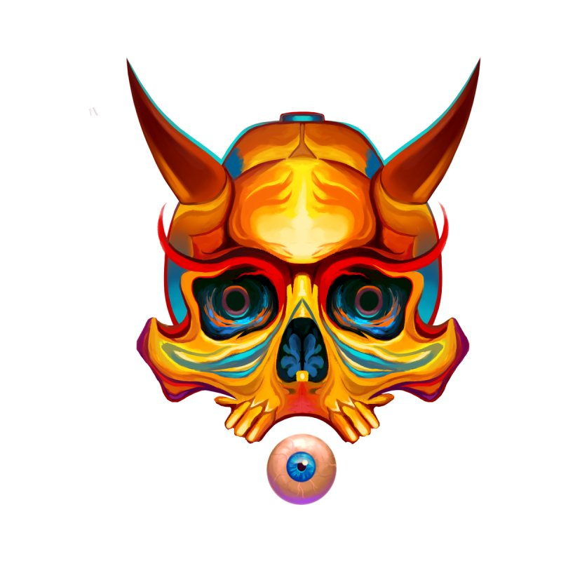 Skull Mask n3 by shaoart's Artist Shop