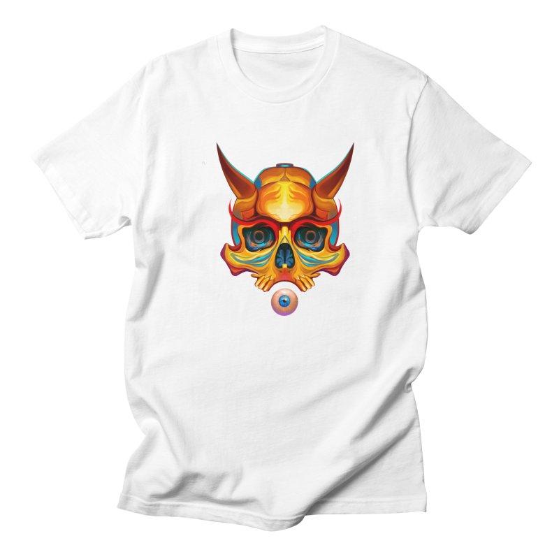 Skull Mask n3 Men's T-Shirt by shaoart's Artist Shop
