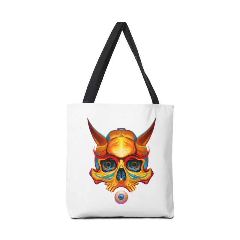 Skull Mask n3 Accessories Bag by shaoart's Artist Shop