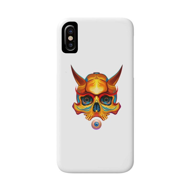 Skull Mask n3 Accessories Phone Case by shaoart's Artist Shop