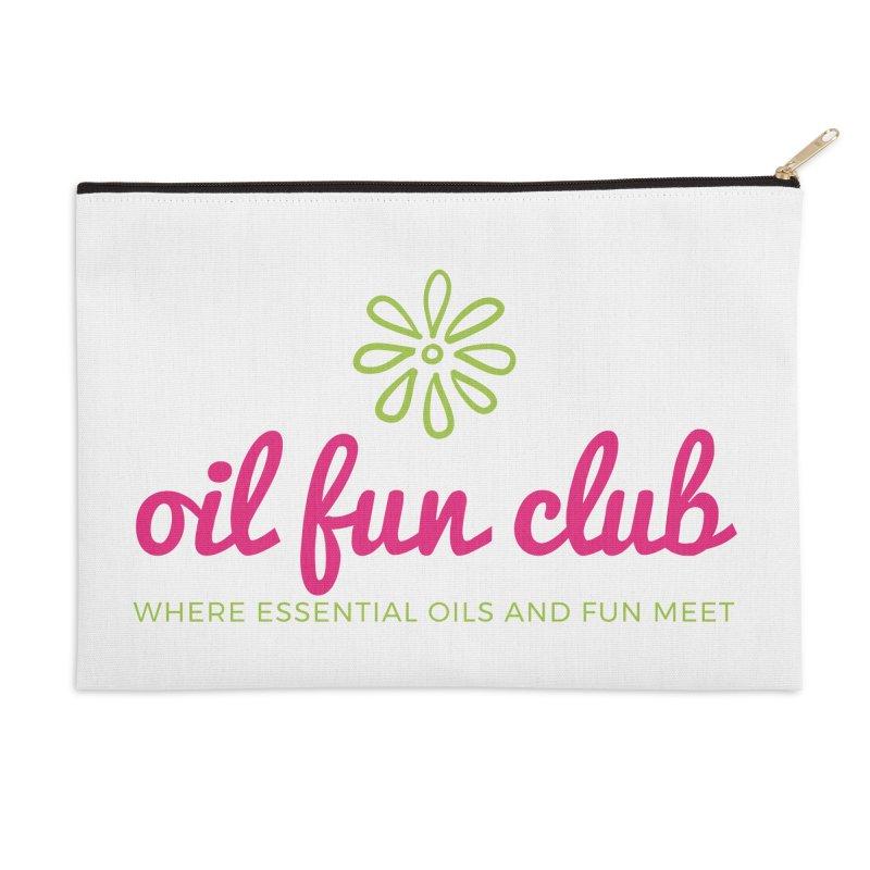 Oil Fun Club Accessories Zip Pouch by Sharon Marta Essentials Shop