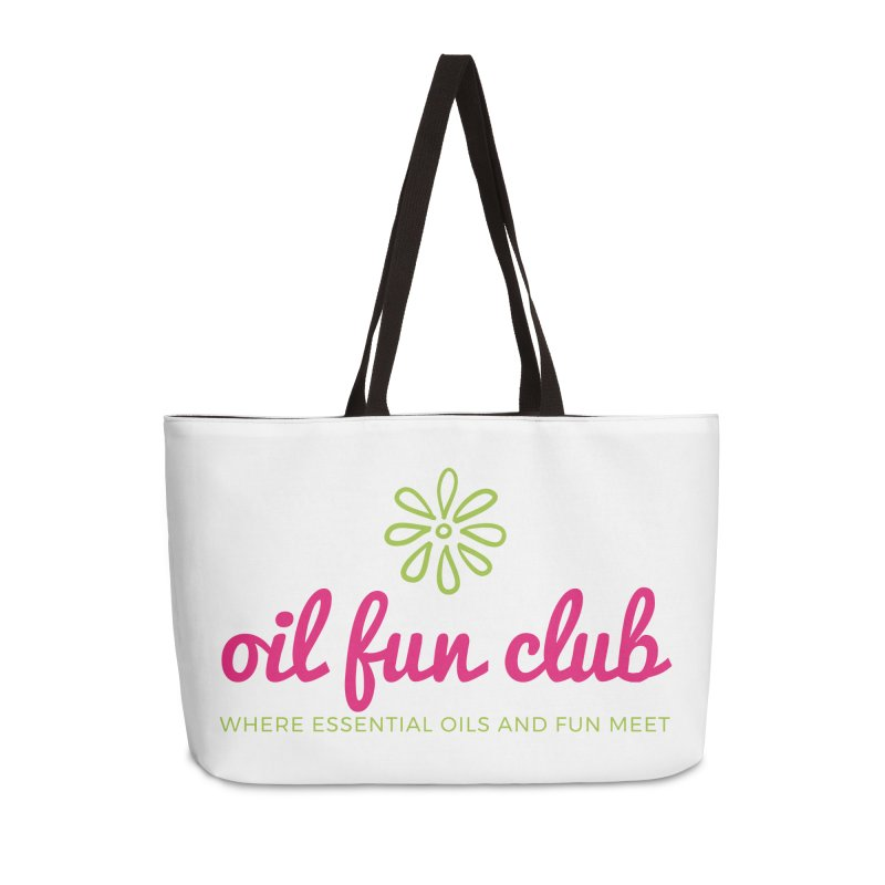 Oil Fun Club Accessories Weekender Bag Bag by Sharon Marta Essentials Shop