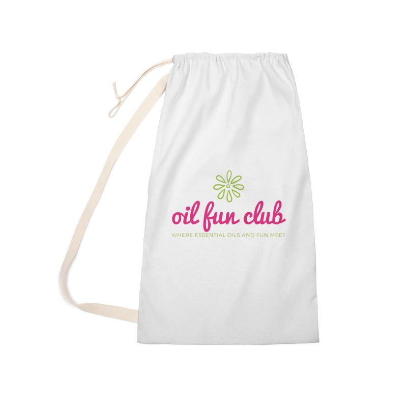 Oil Fun Club Accessories Laundry Bag Bag by Sharon Marta Essentials Shop