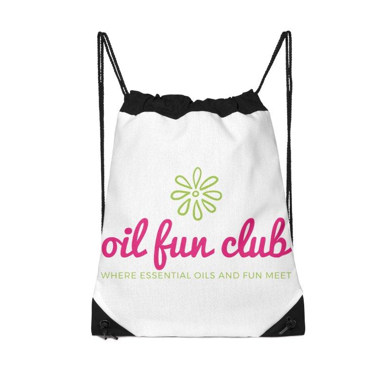 Oil Fun Club Accessories Drawstring Bag Bag by Sharon Marta Essentials Shop