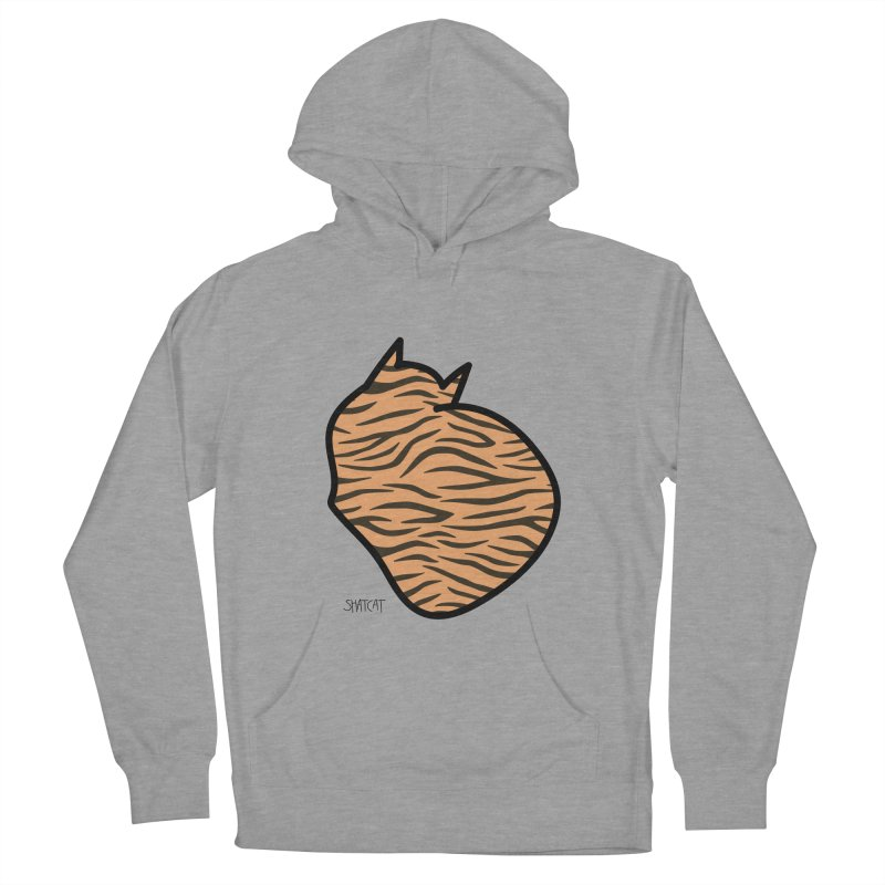 Tiger Kitty Women's French Terry Pullover Hoody by ShatCat