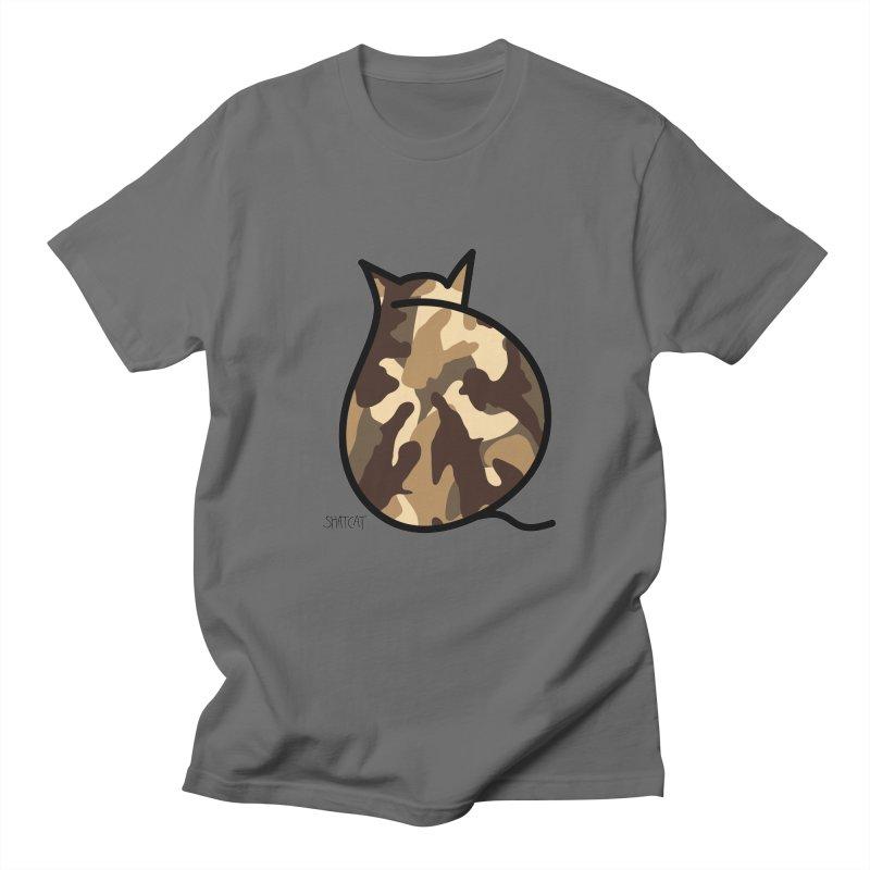 Camo Kitty #2 Women's Regular Unisex T-Shirt by ShatCat