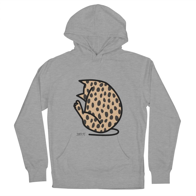 Cheetah Kitty Women's French Terry Pullover Hoody by ShatCat