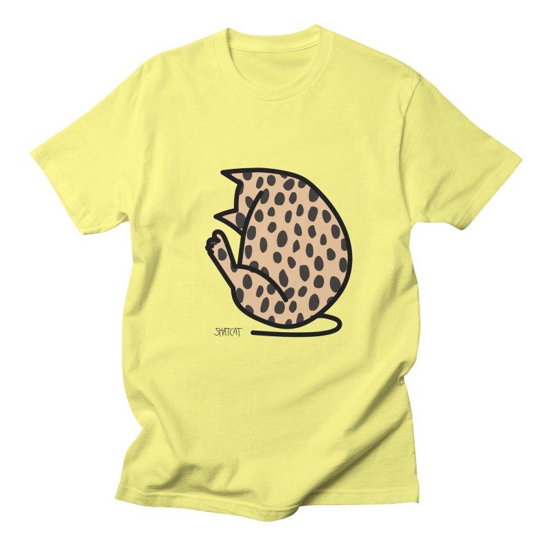 Cheetah Kitty Women's Regular Unisex T-Shirt by ShatCat