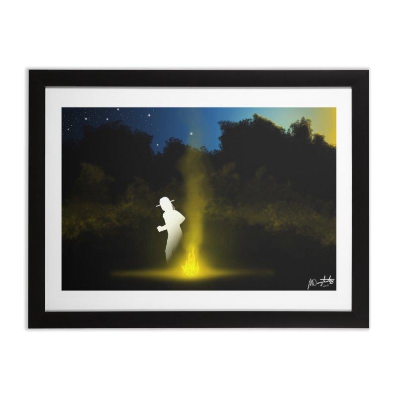 Last Lead at Dawn Home Framed Fine Art Print by Shawnee Rising Studios