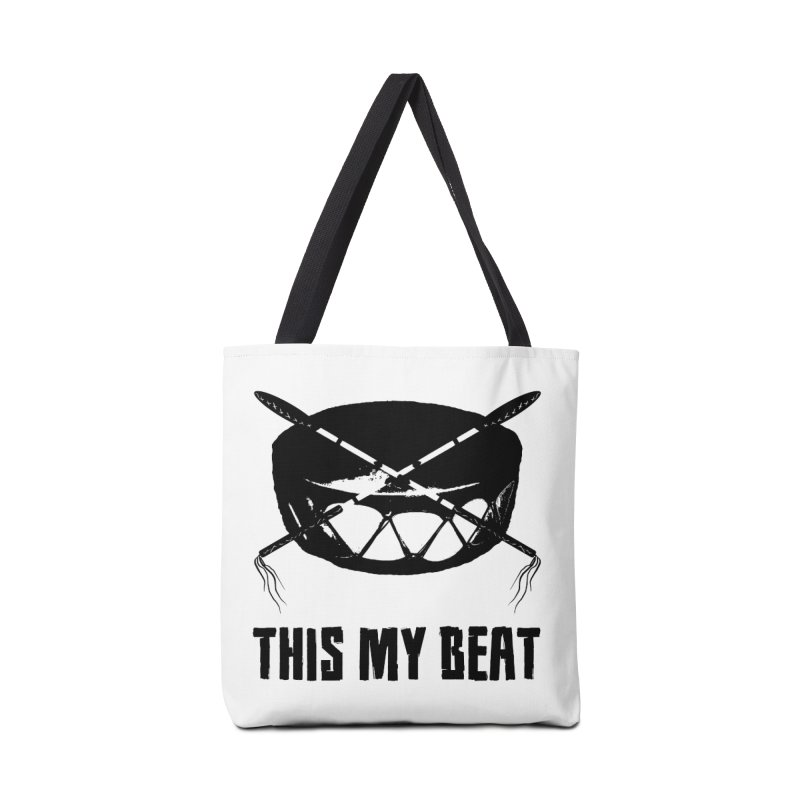 This My Beat #2 Accessories Tote Bag Bag by Shawnee Rising Studios