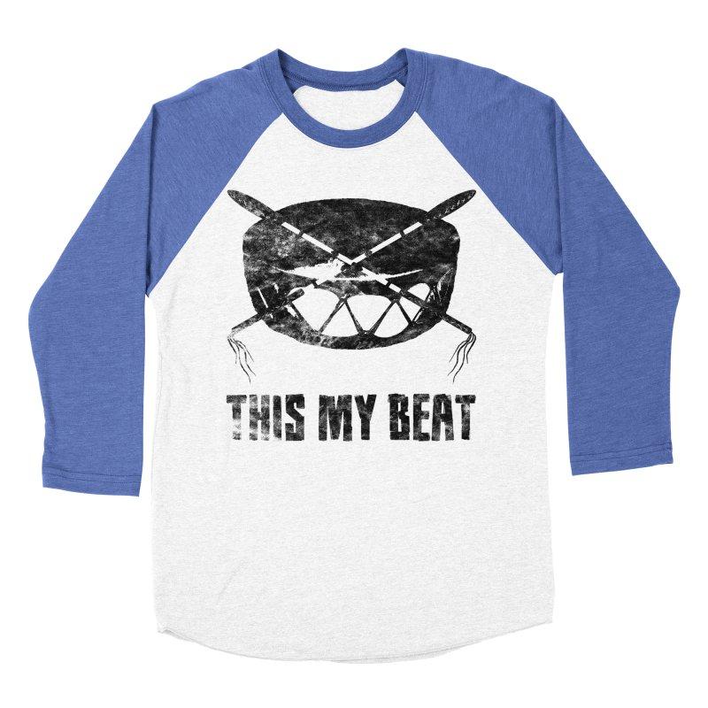 This My Beat #2 Men's Baseball Triblend Longsleeve T-Shirt by Shawnee Rising Studios
