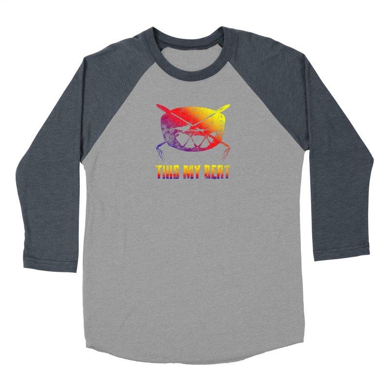 This My Beat Men's Baseball Triblend Longsleeve T-Shirt by Shawnee Rising Studios