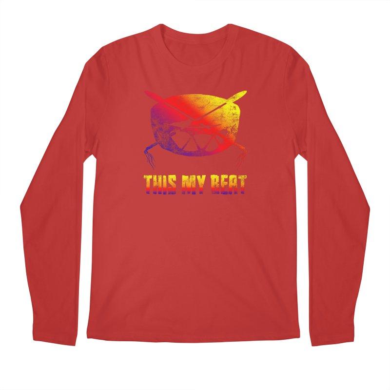 This My Beat Men's Regular Longsleeve T-Shirt by Shawnee Rising Studios