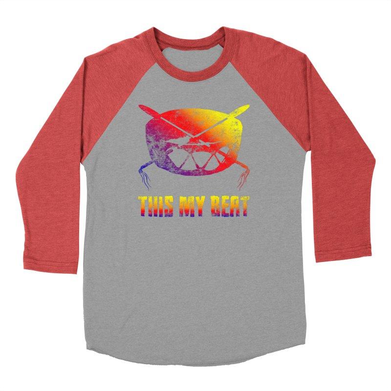 This My Beat Women's Baseball Triblend Longsleeve T-Shirt by Shawnee Rising Studios