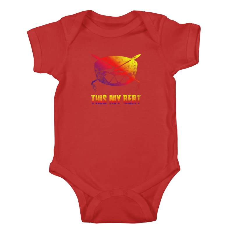 This My Beat Kids Baby Bodysuit by Shawnee Rising Studios