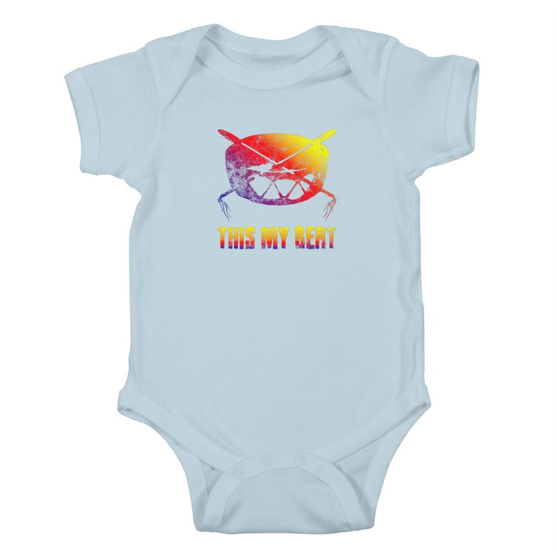 This My Beat Kids Baby Bodysuit by Shawnee Rising Studios
