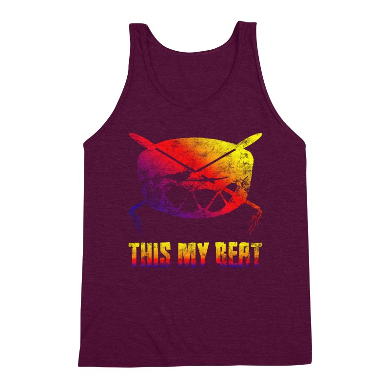 This My Beat Men's Triblend Tank by Shawnee Rising Studios