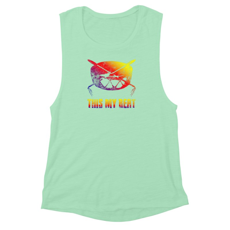 This My Beat Women's Muscle Tank by Shawnee Rising Studios