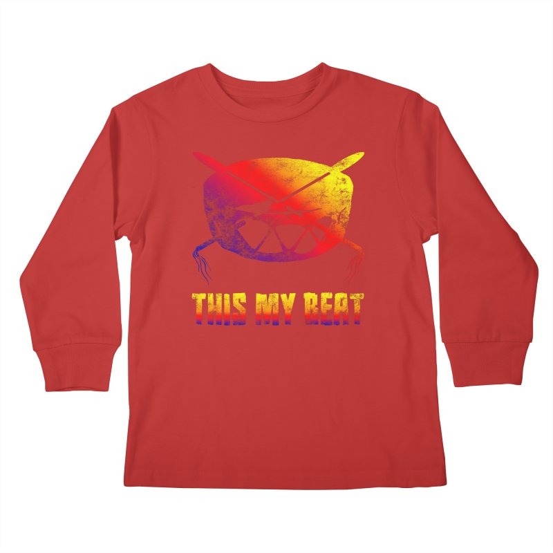 This My Beat Kids Longsleeve T-Shirt by Shawnee Rising Studios