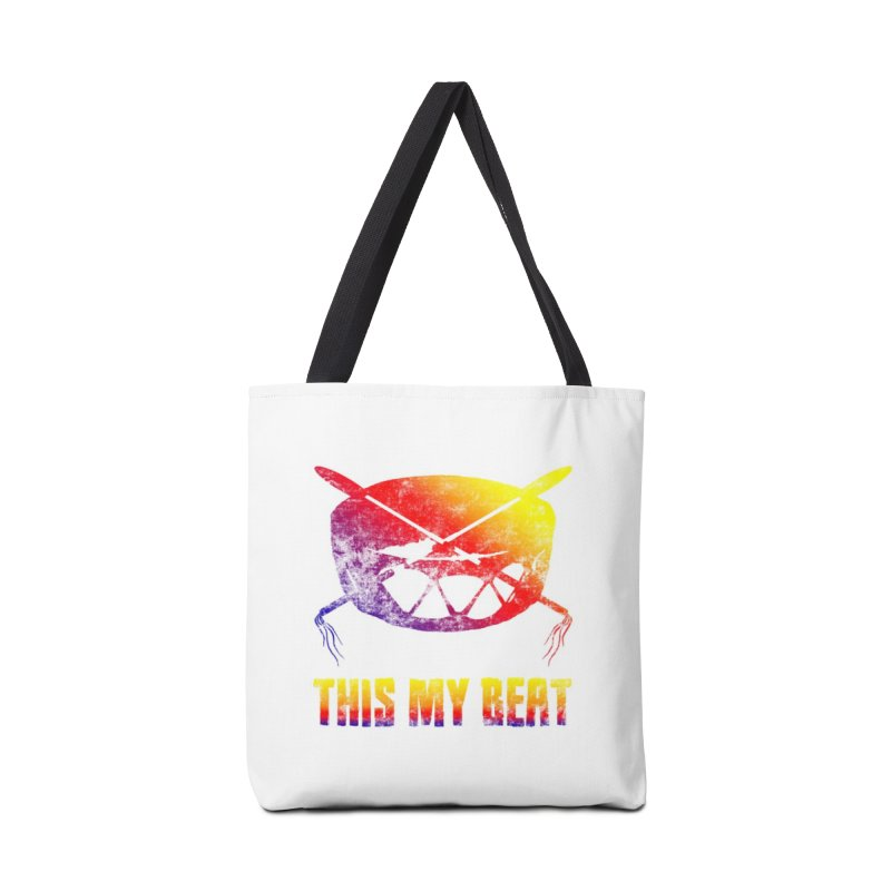 This My Beat Accessories Tote Bag Bag by Shawnee Rising Studios