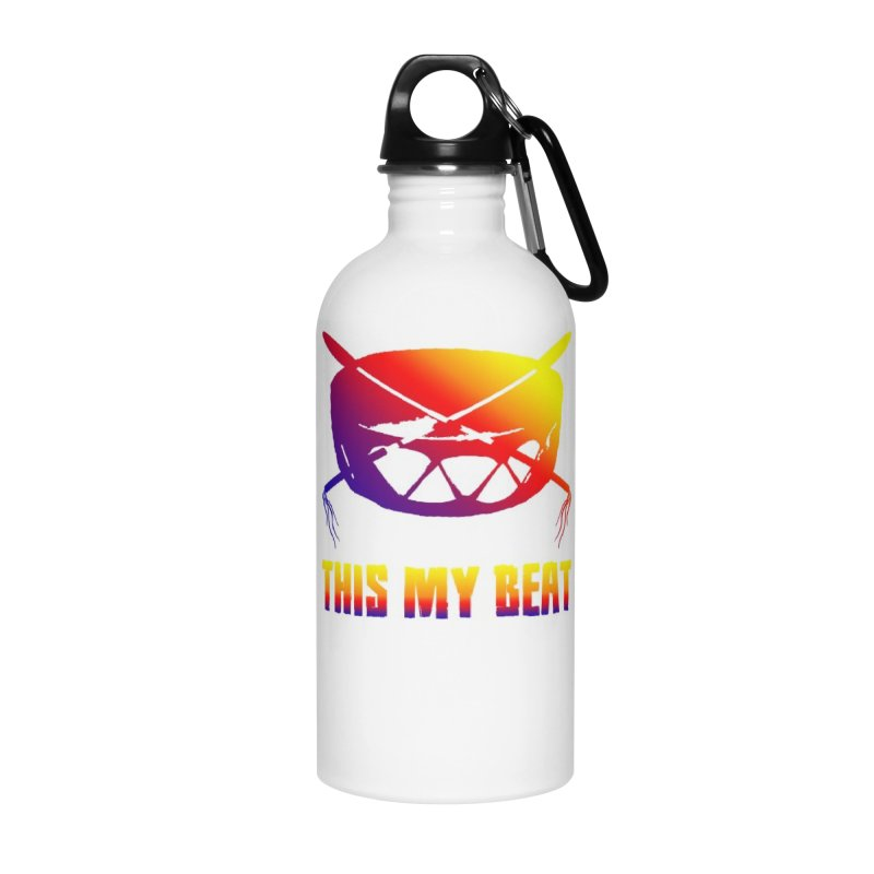 This My Beat Accessories Water Bottle by Shawnee Rising Studios