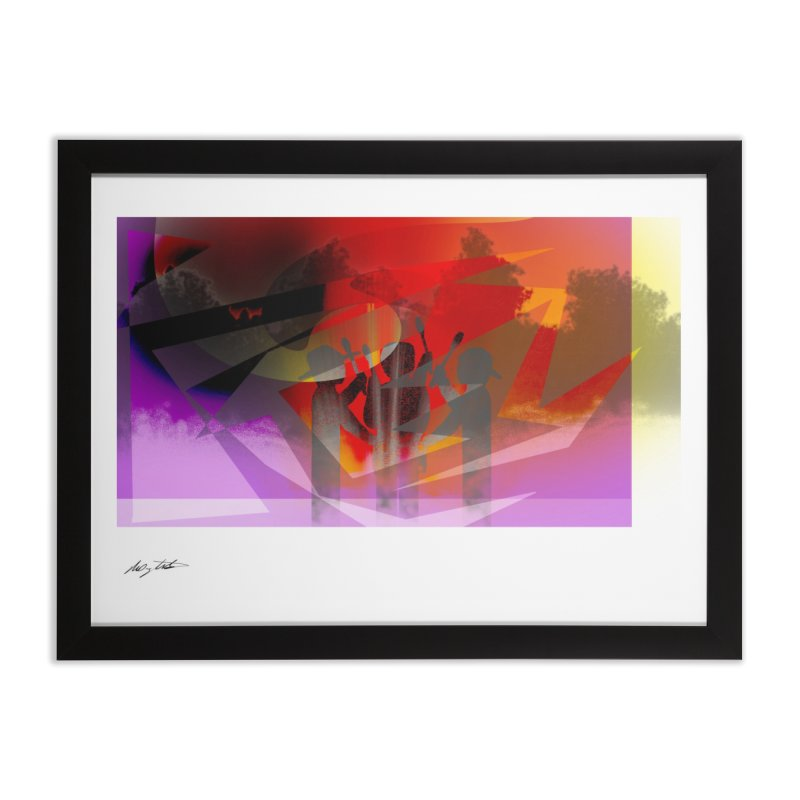 Back Road 9 Home Framed Fine Art Print by Shawnee Rising Studios
