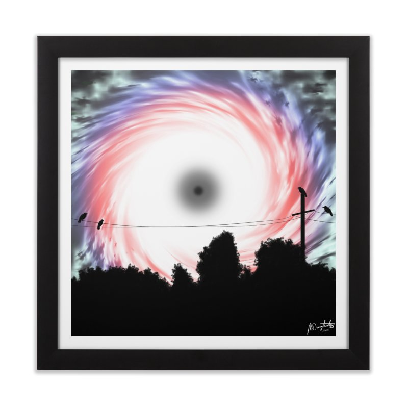 Singularity Home Framed Fine Art Print by Shawnee Rising Studios