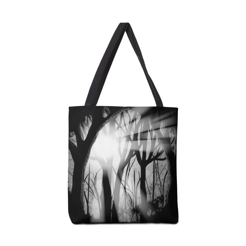 Forest Light Accessories Bag by Shawnee Rising Studios