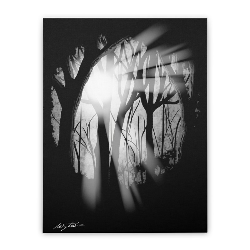 Forest Light Home Stretched Canvas by Shawnee Rising Studios