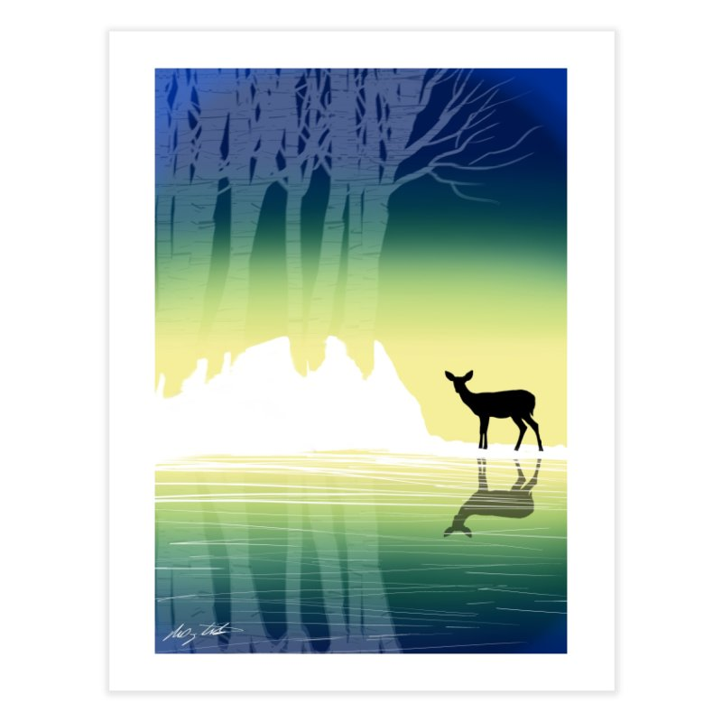 In The Birch Home Fine Art Print by Shawnee Rising Studios