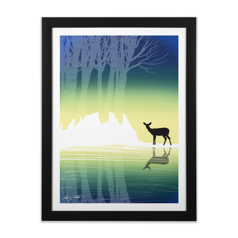 In The Birch Home Framed Fine Art Print by Shawnee Rising Studios