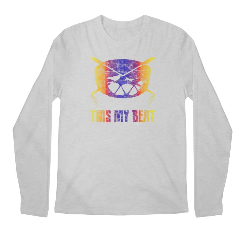 This My Beat #3 Men's Regular Longsleeve T-Shirt by Shawnee Rising Studios