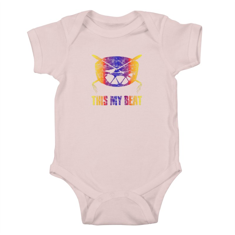 This My Beat #3 Kids Baby Bodysuit by Shawnee Rising Studios