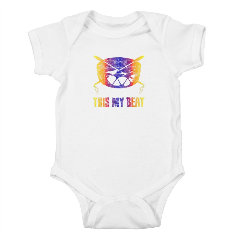 This My Beat #3 Kids Baby Bodysuit by Shawnee Rising Studios