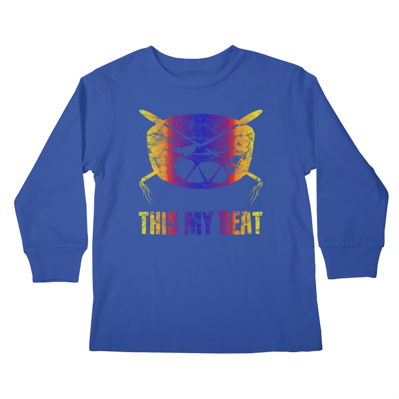 This My Beat #3 Kids Longsleeve T-Shirt by Shawnee Rising Studios