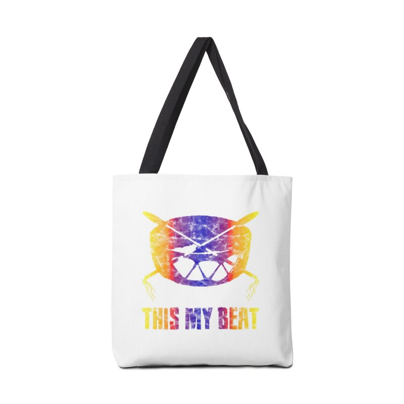 This My Beat #3 Accessories Tote Bag Bag by Shawnee Rising Studios