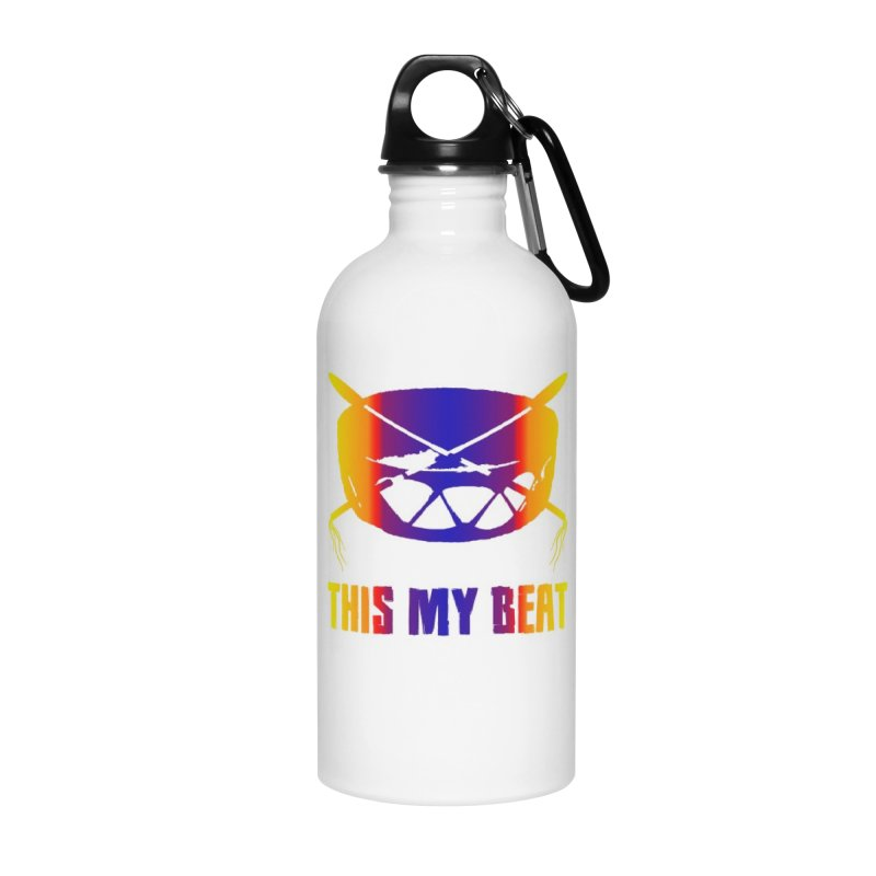 This My Beat #3 Accessories Water Bottle by Shawnee Rising Studios
