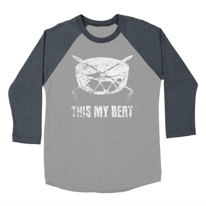 This My Beat #4 Men's Baseball Triblend Longsleeve T-Shirt by Shawnee Rising Studios