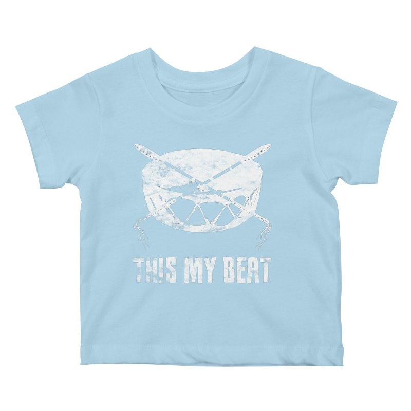 This My Beat #4 Kids Baby T-Shirt by Shawnee Rising Studios