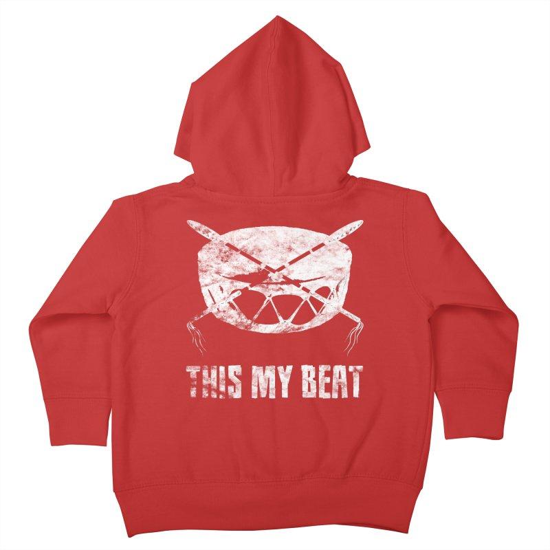 This My Beat #4 Kids Toddler Zip-Up Hoody by Shawnee Rising Studios