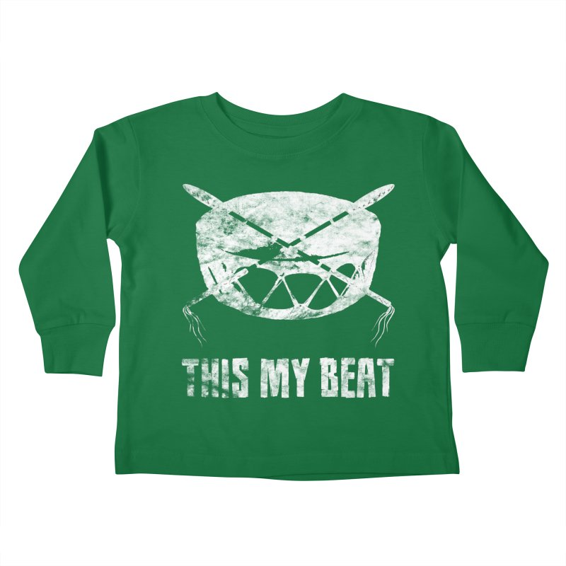 This My Beat #4 Kids Toddler Longsleeve T-Shirt by Shawnee Rising Studios