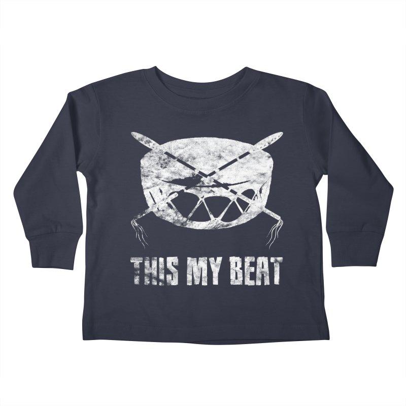 This My Beat #4 Kids Toddler Longsleeve T-Shirt by Shawnee Rising Studios