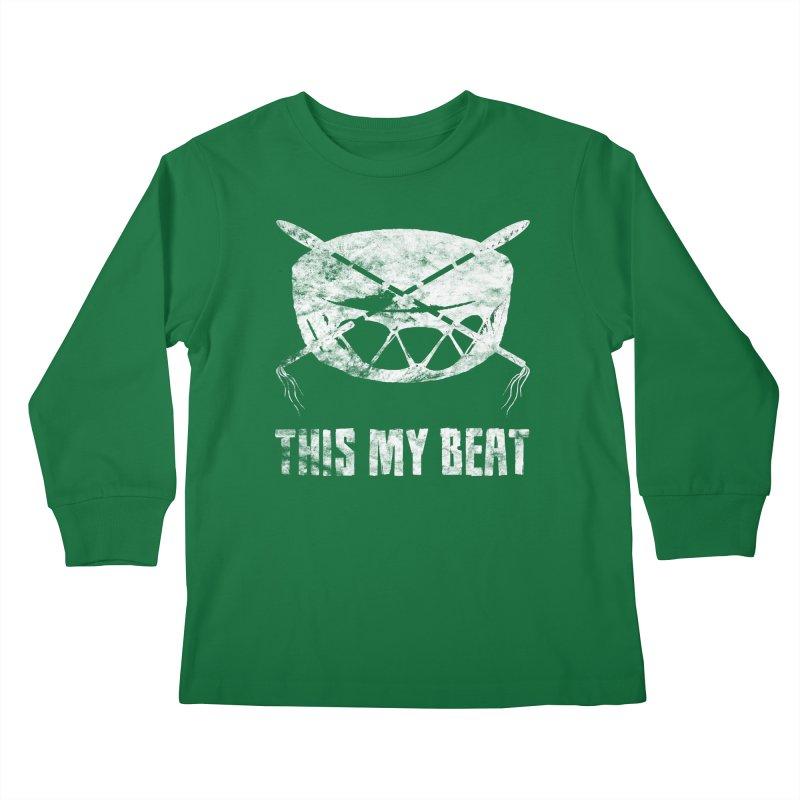 This My Beat #4 Kids Longsleeve T-Shirt by Shawnee Rising Studios