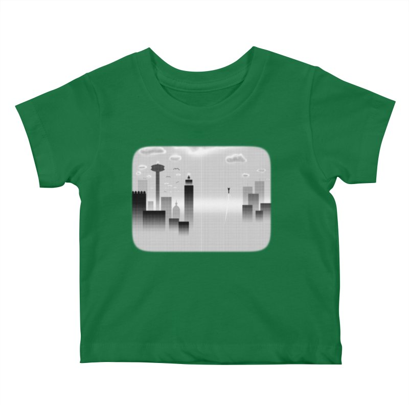 Hero's Flight Kids Baby T-Shirt by Shawnee Rising Studios