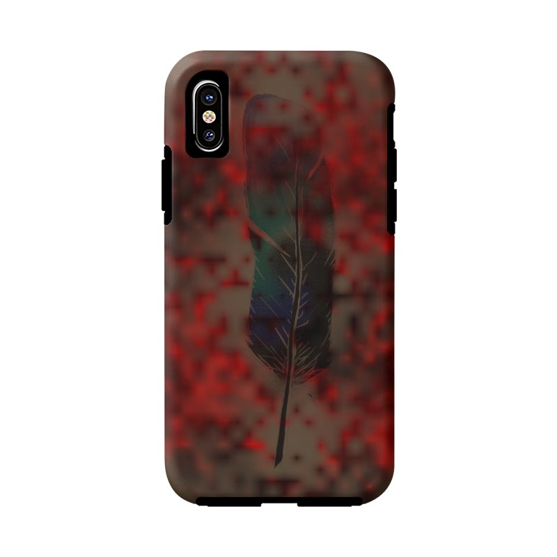 Shadow in iPhone X / XS Phone Case Tough by Shawnee Rising Studios