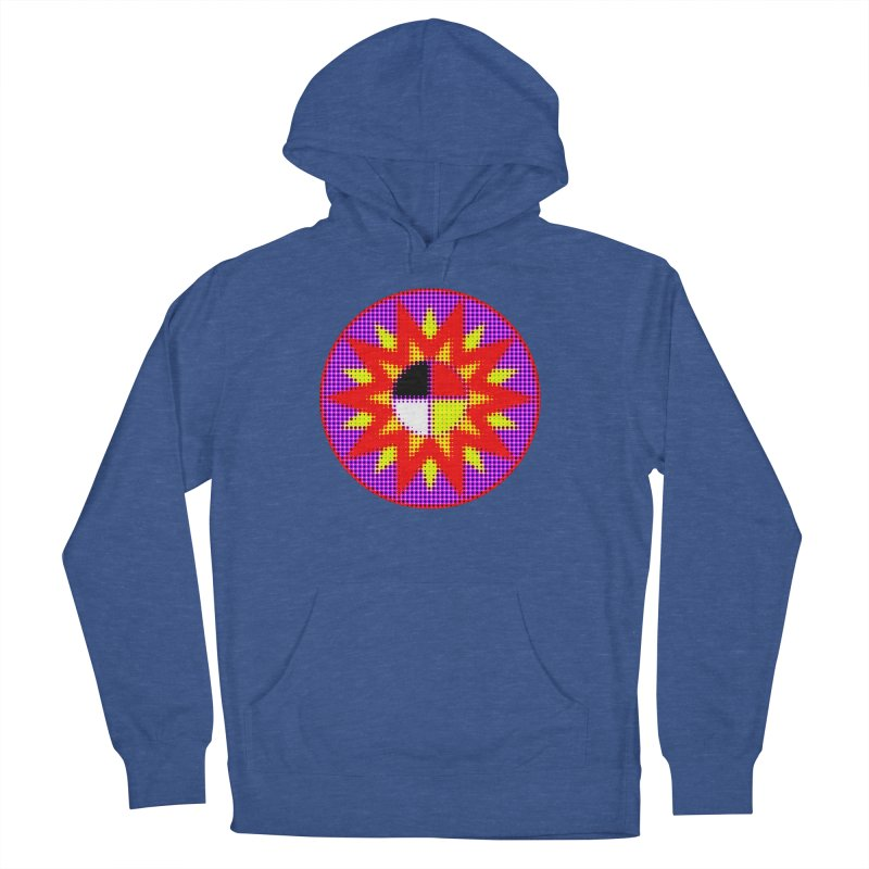 Burst of Color Women's French Terry Pullover Hoody by Shawnee Rising Studios