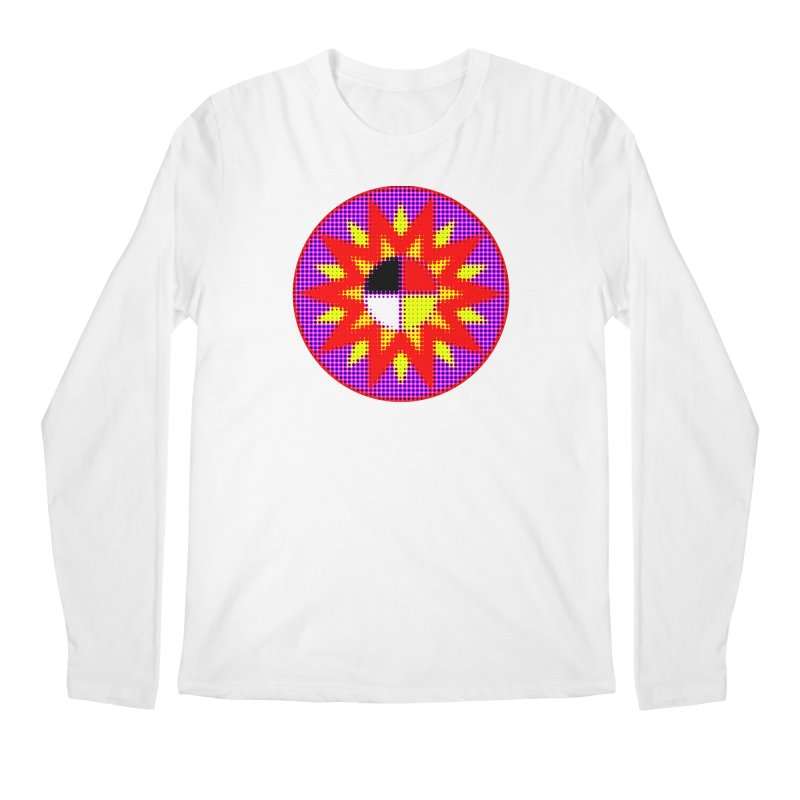 Burst of Color Men's Regular Longsleeve T-Shirt by Shawnee Rising Studios