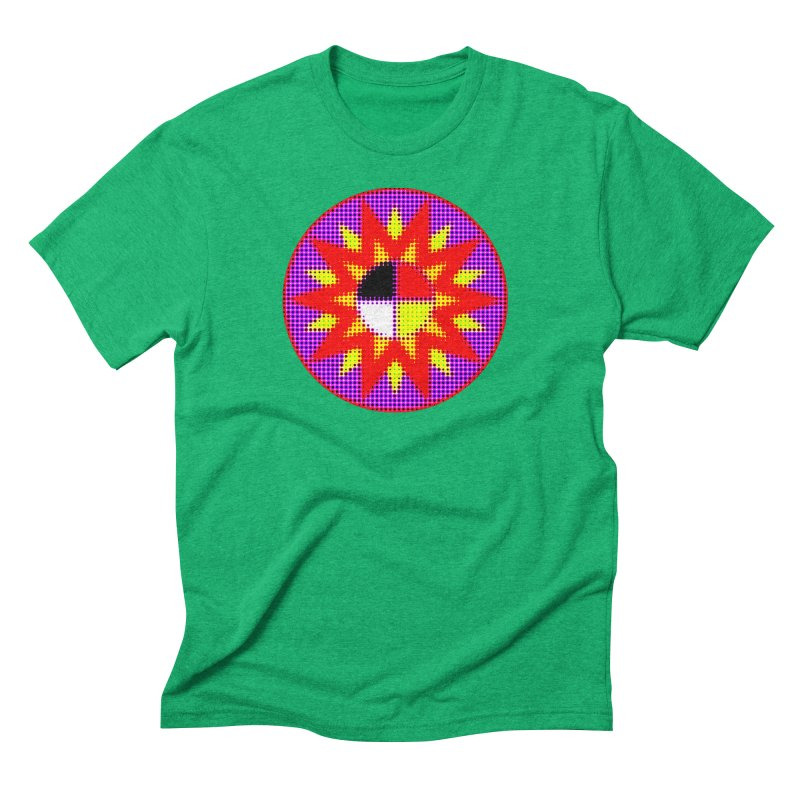 Burst of Color Men's Triblend T-Shirt by Shawnee Rising Studios