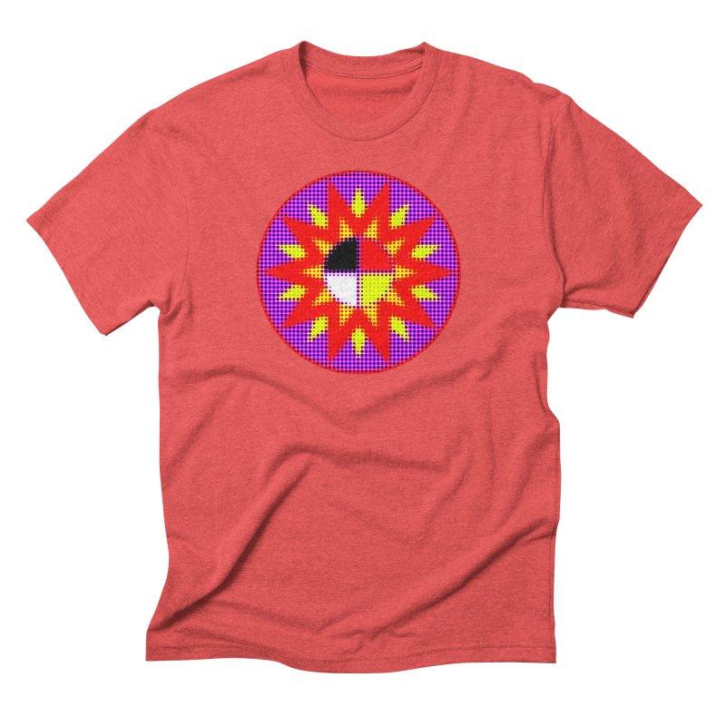 Burst of Color Men's Triblend T-Shirt by Shawnee Rising Studios